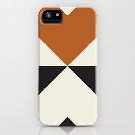 Split X Rust iPhone Case