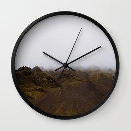 Jurassic Landscape Wall Clock