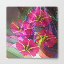 Floral summer joy Metal Print