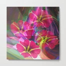 Floral summer joy Metal Print
