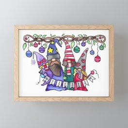 Fa La La Framed Mini Art Print