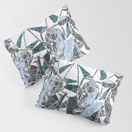 Cyber Graffiti Pillow Sham