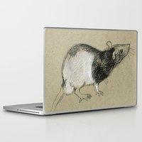 rat Laptop & iPad Skins featuring Rat by Freeminds
