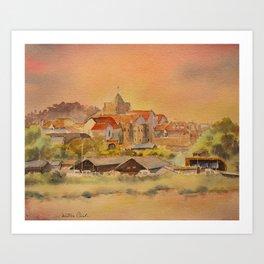 Rye East Sussex UK Art Print