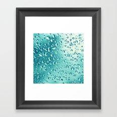 I wish it would rain down Framed Art Print
