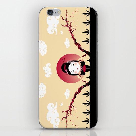 Geisha2 iPhone & iPod Skin