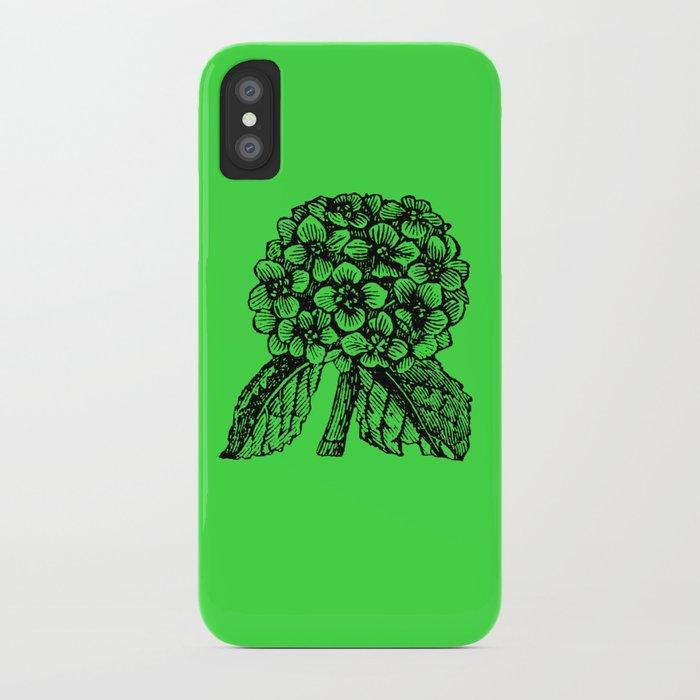 Green Hydrangea iPhone Case