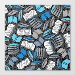 So Many Books... Canvas Print