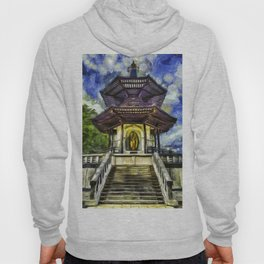 The Pagoda Vincent Van Gogh Hoody