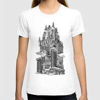 madrid T-shirts featuring MADRID 360º by DOURONE