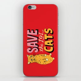 Save the LOL Cats iPhone Skin