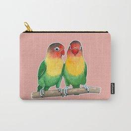Fischer's lovebirds Carry-All Pouch