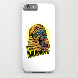 A Unique Detailed Mummy Zombie Tee For Yourself? Here's An Awesome T-shirt Saying The Mummy Design iPhone Case