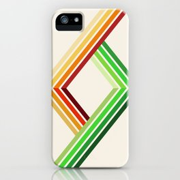 Diagonal Ray 2 iPhone Case