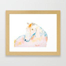 Dreaming of Color Framed Art Print