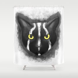 Rise of the planet of the cats Shower Curtain