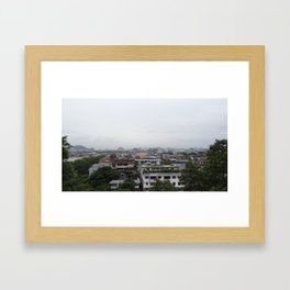 China Stories #9: Sweet Osmanthus Framed Art Print