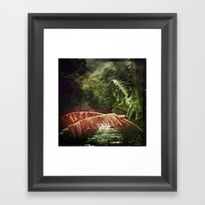 Let's Escape to Wilderness - Version II Framed Art Print