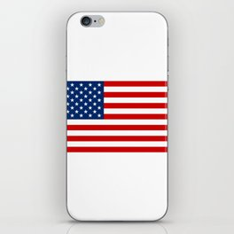 4th of July Beer Drinking Party Flag For Men Women iPhone Skin