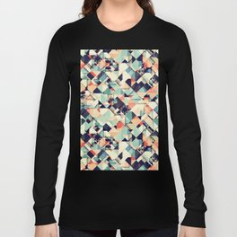 Jumble of Colors And Texture Long Sleeve T-shirt