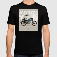 The Mother Road Mens Fitted Tee Black MEDIUM