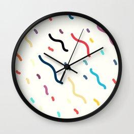 Squiggle Wall Clock