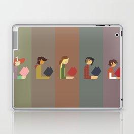 Lumber Ladies Read Laptop & iPad Skin