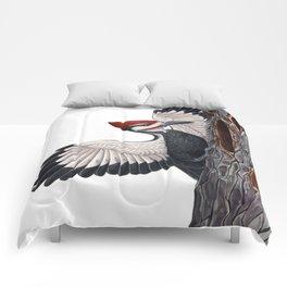 Pileated Woodpecker Comforters