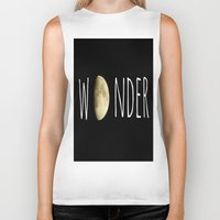 wonder Biker Tanks featuring Wonder by ALLY COXON