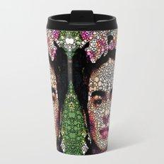 Frida Kahlo Art - Define Beauty Travel Mug