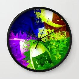January Art Show 2010 Wall Clock