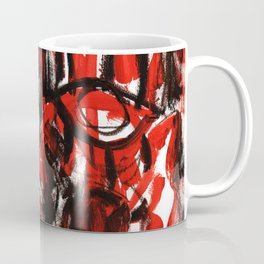 Anger - b&w Coffee Mug