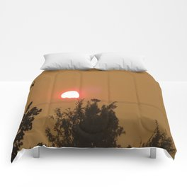 Smoky Sunset  Comforters