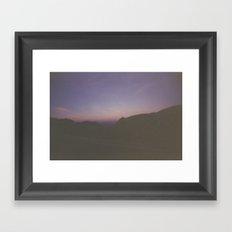 phoenix desert Framed Art Print
