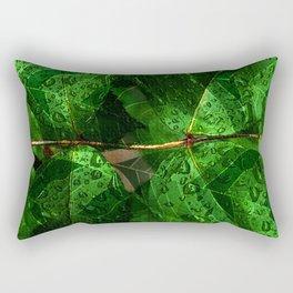 Leaves V8WL Rectangular Pillow