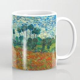 Vincent Van Gogh Poppy Field Coffee Mug