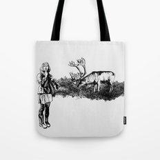 caribou Tote Bag