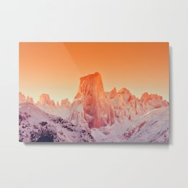 Naranjo de Bulnes at dawn in Picos de Europa National Park, Asturias, Spain Metal Print