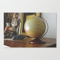 globe Canvas Prints featuring Globe by dani.rbcc