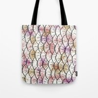 scales Tote Bags featuring Scales by Valerie C. Salmon