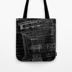 architectural sketch Tote Bag