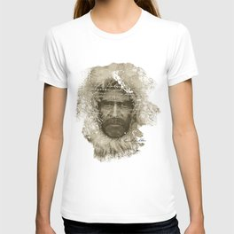 Ernest Shackleton Fake Robert E.Peary (Spanish Version) T-shirt