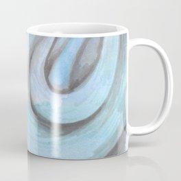 swirl (light blue) Coffee Mug