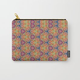 hippie - pattern colorfull Carry-All Pouch