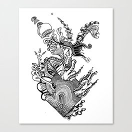 Swimming Pools Canvas Print