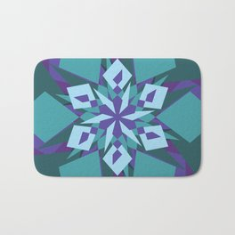 Crazy Mandala Bath Mat