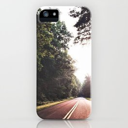 Sunset Drive on the Blue Ridge Parkway iPhone Case