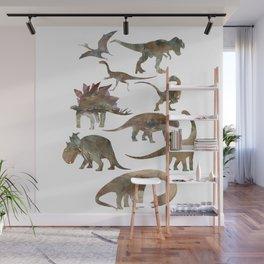 Dinosaurs Creation Wall Mural
