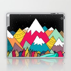 River in the mountains Laptop & iPad Skin