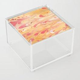 Yellow Marble Acrylic Box